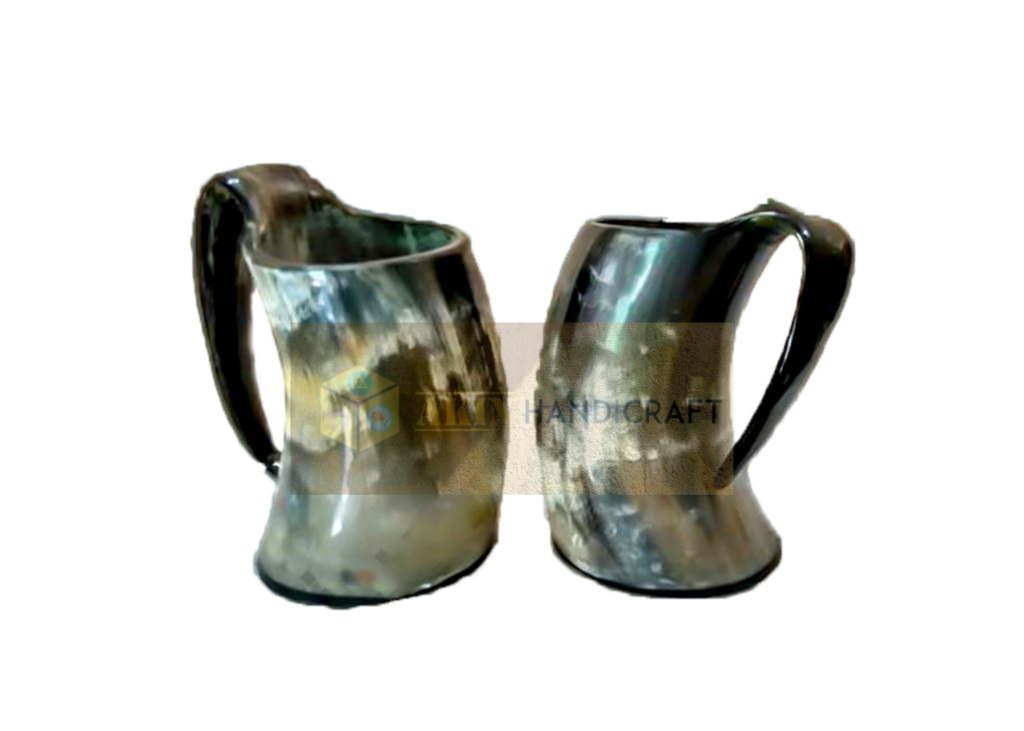Hand Engraving Drinking Horn