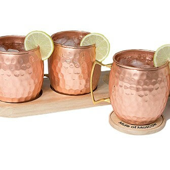 Pure Copper Hammered Moscow Mule Mug Cup