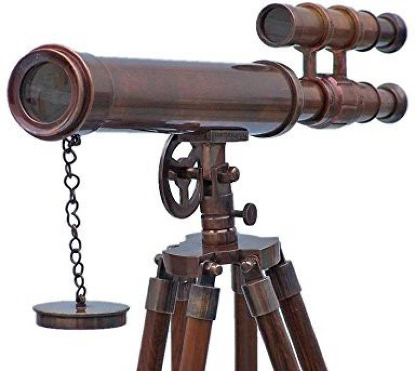 Double Barrel Telescope with Tripod