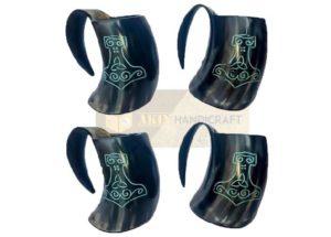 horn cup akin