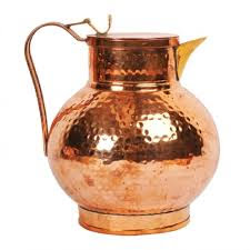 Hammered Royal Surai Design Copper Jug