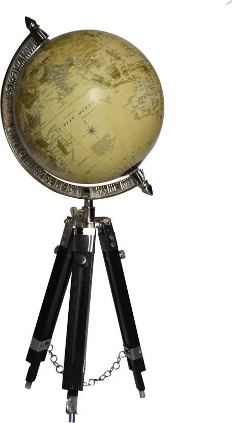 Vintage Tabletop Globe