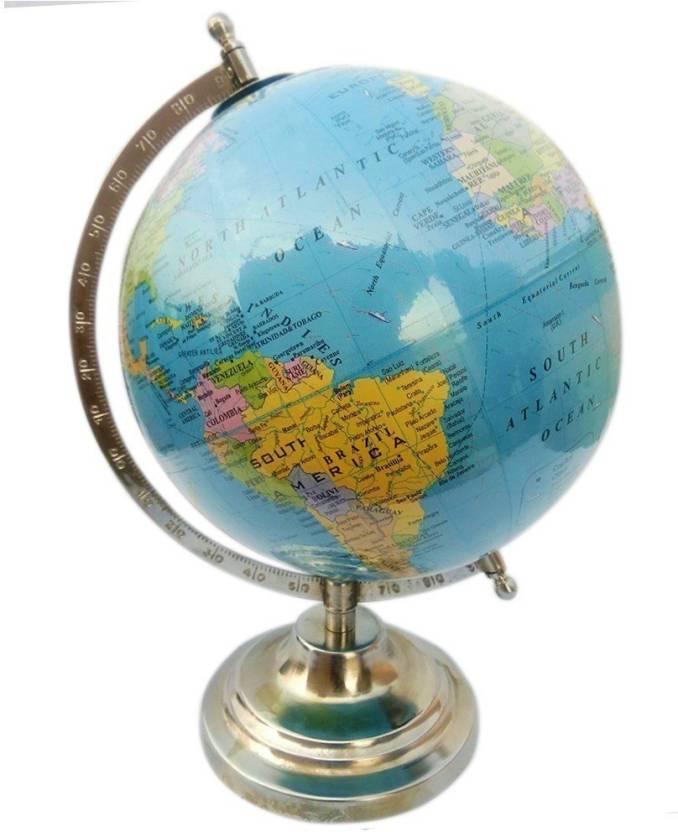 Political Educational Rotating Globe