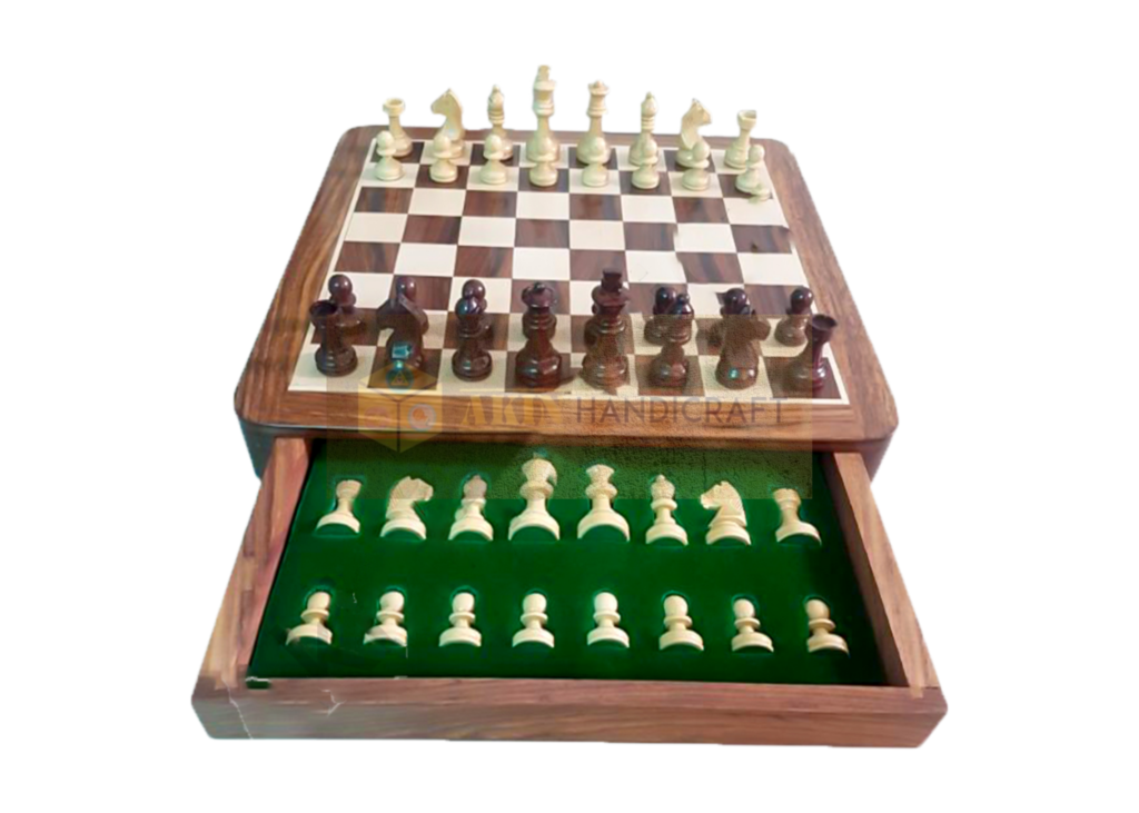 chess board with drawer