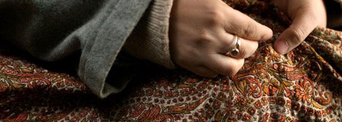 Hancrafted shawls