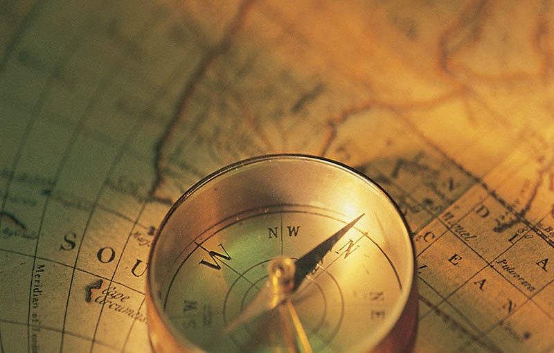 THE HISTORY OF A MAGNETIC COMPASS